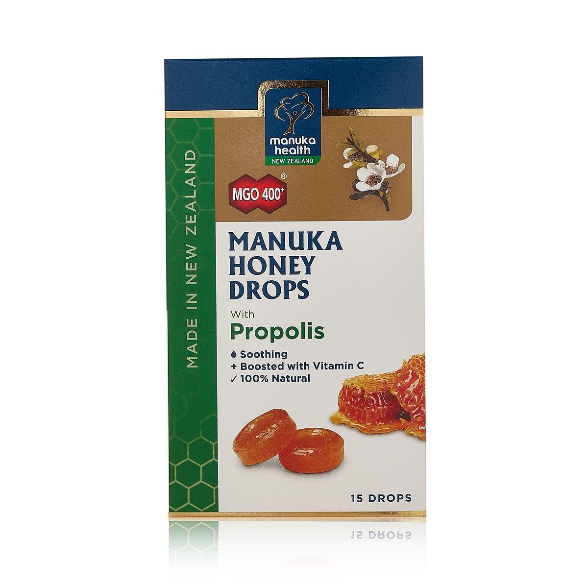 Manuka Honey Drops  with PROPOLIS 4.3g